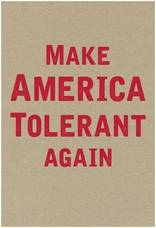 Make America Tolerant Again Vertical