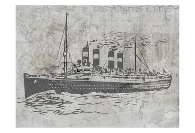 Newspaper Sea Travel
