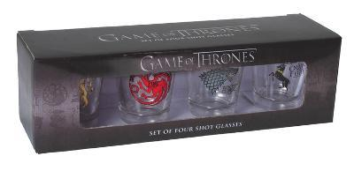 Game of Thrones - House Sigil Shot Glass Set