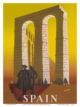 Spain - Aqueduct of Segovia