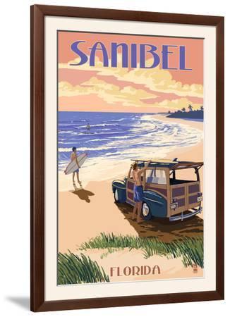 Sanibel, Florida - Woody on the Beach