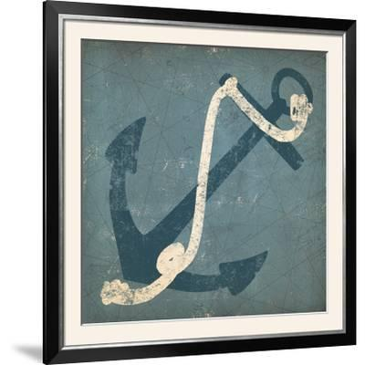 Nautical Anchor Blue