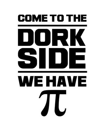 Come To The Dork Side White