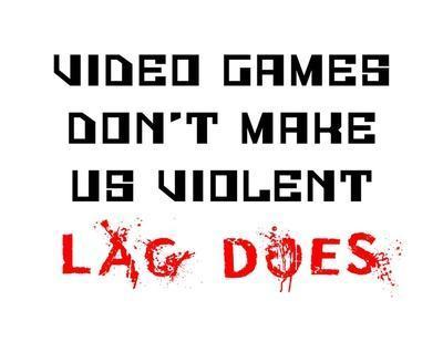 Video Games Don't Make us Violent - White