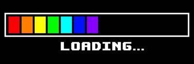 Loading -Rainbow