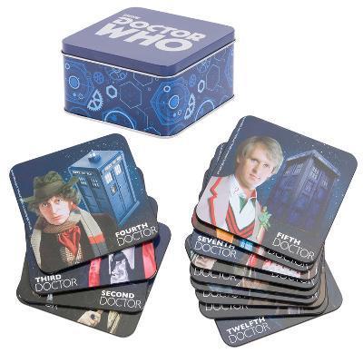 Doctor Who - 13 pc. Coaster Set with Tin Storage Box