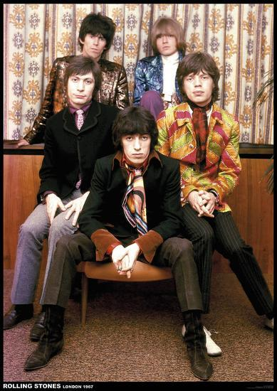 Rolling Stones London 1967 Print Allposters Com