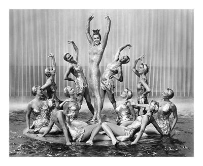 Million Dollar Mermaid, Esther Williams, MGM, 1952