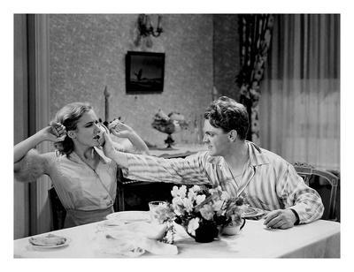 James Cagney & Mae Clark 'Public Enemy' 1931