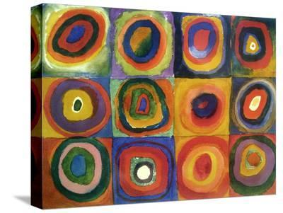 Squares with Concentric Circles