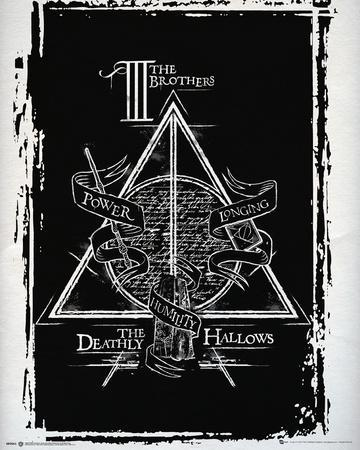 Harry Potter Deathly Hallows Graphic