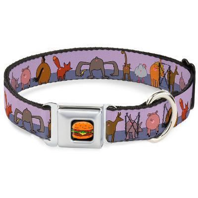 Bob's Burgers - Animal Butt Portraits Dog Collar