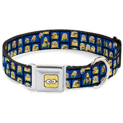 Minions - Dave Posing Blocks Dog Collar
