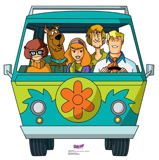Scooby-Doo Mystery Incorporated - Mystery Machine on scooby doo ruh-roh, scooby doo the mystery car, scooby doo adventures,