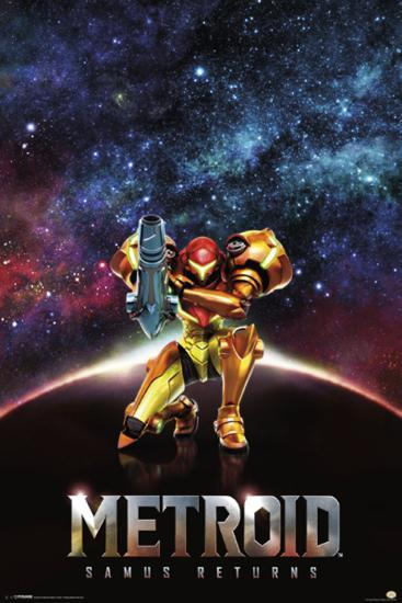 Metroid Samus Returns Posters At Allposters Com