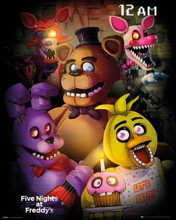 five night at freddy s group posters at allposters com