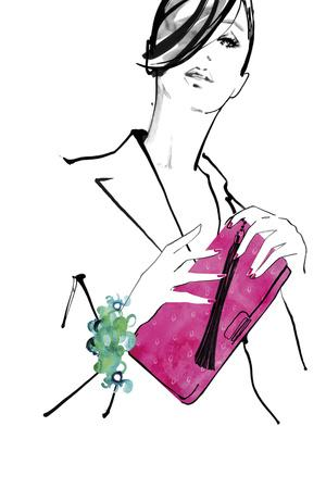 Hot Pink Bag