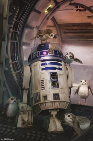 Star Wars - Episode VIII- The Last Jedi - Droid & Porg