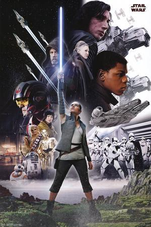 Star Wars - Episode VIII- The Last Jedi- Group