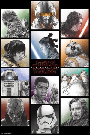 Star Wars - Episode VIII- The Last Jedi- Grid