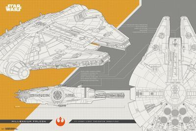 Star Wars - Episode VIII- The Last Jedi- Millennium Falcon
