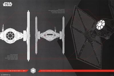 Star Wars - Episode VIII- The Last Jedi- Tie Fighter