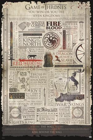 Game Of Thrones- Infographic