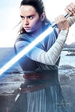 Star Wars: Episode VIII- The Last Jedi - Rey Engage