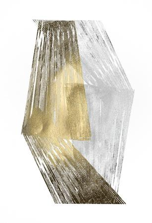 Gold & Silver Foil Stripes