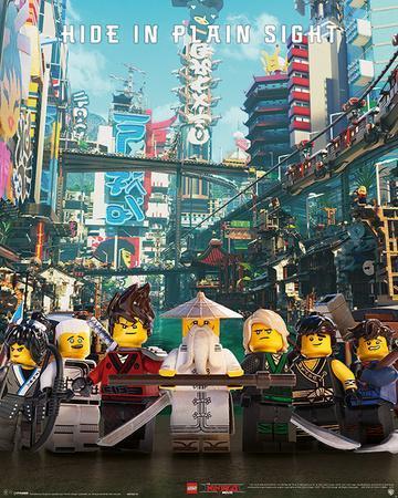 Lego Ninjago Movie - Hide In Plain Sight