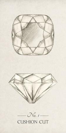 Diamantaire - Cushion