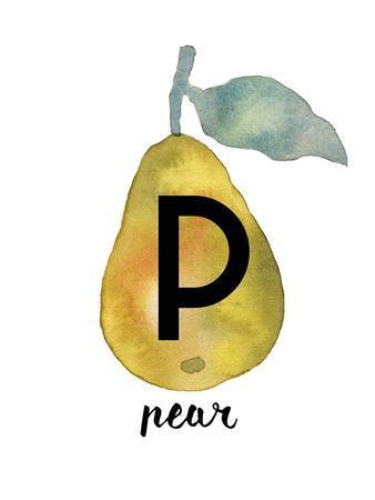 Alphabet Pear