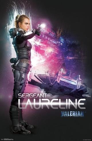 Valerian Poster Cara Delevingne NEW Movie 2017 Film FREE P+P CHOOSE YOUR SIZE