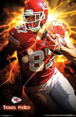 kansas city chiefs t kelce 16 posters at allposters com