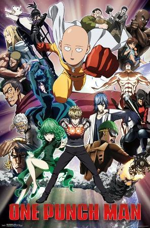 One Punch Man - Key Art 2