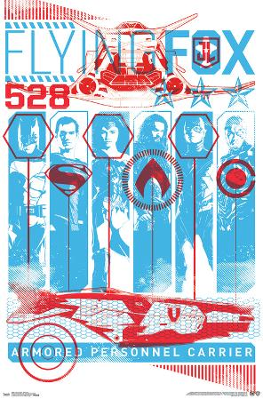 Justice League - Flying Fox