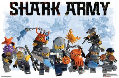 Lego Ninjago - Shark Army