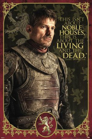 Game Of Thrones - Jaime-Noble Houses
