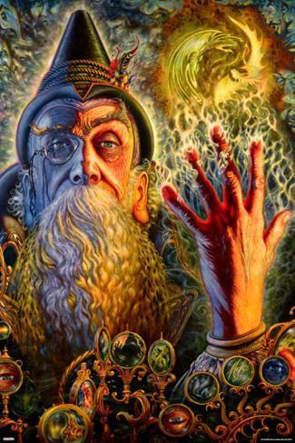 Wizard 80s Fantasy Art