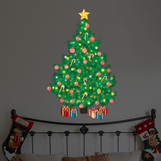 magic traditional looking christmas tree