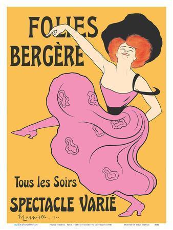 Folies Bergère - Paris, France - Every Evening a Varied Show (Tous les soirs spectacle varié)
