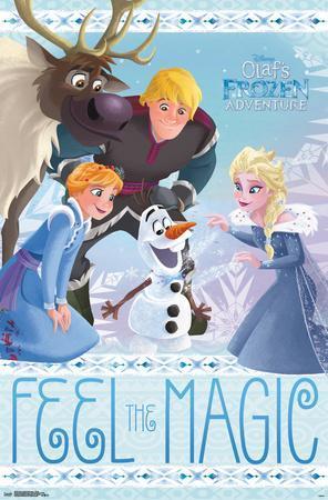 Olaf'S Frozen Adventure- Group