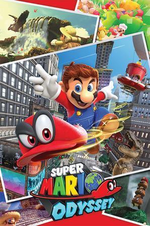 Super Mario Odyssey- Collage
