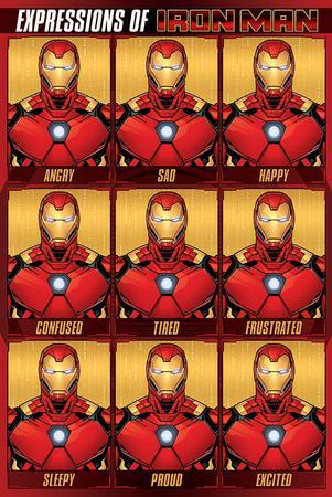 Avengers (Expressions Of Iron Man)