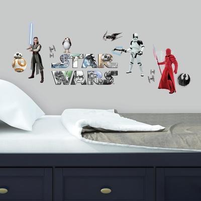 Star Wars: The Last Jedi Peel and Stick Wall Decals