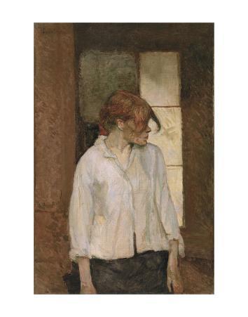"""""""A Montrouge"""" - Rosa la Rouge, 1886-1887"""