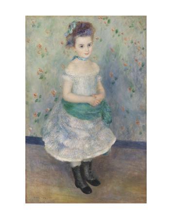 Portrait of Jeanne Durand-Ruel (Portrait de Mlle. J.), 1876