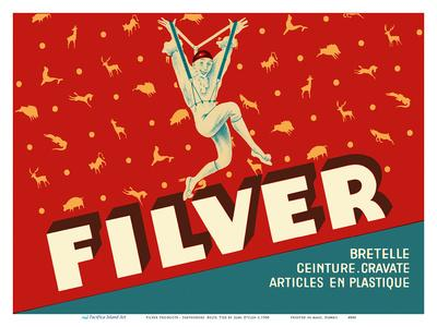 Filver Products - Suspenders, Belts, Ties (Bretelle, Ceinture, Cravate)