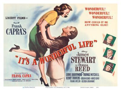 "Frank Capra's ""It's a Wonderful Life"" - Starring James Stewart, Donna Reed"