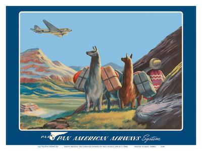 South America - Wings Over the World - Pan American Airways System - Douglas DC-3